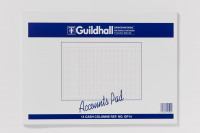 Guildhall 14-Column Cash Account Pad 298x406mm GP14