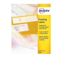 Avery Franking Labels Auto Hopper 140x38mm FL04 (1000Labels)