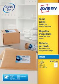 Avery Inkjet Addressing Labels 139x99mm J8169-100(400Labels)