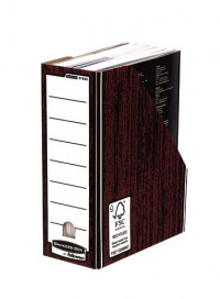 Fellowes Brown Bankers Box Premium Magazine File (Pack of 10) 0723301