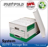 Fellowes System Storage Box Green PK10