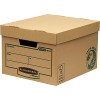 Bankers Box Earth Series Brown Storage Box (Pack of 10) 4472401