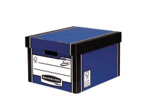 Fellowes Bankers Box Premium Presto Classic Storage Box Blue (Pack of 10) 7250601