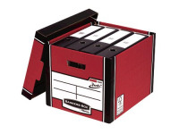 Bankers Box Red Presto Bankers Box Premium Storage Boxes (Pack of 10) 7260701