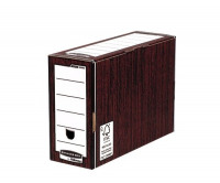 Bankers Box by Fellowes Premium Transfer File Woodgrain Ref 5302-FF [Pack 10]