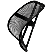 Fellowes Office Suites Mesh Back Support Black