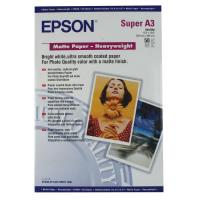 Epson Matte Heavyweight Paper A3Plus Pack 50