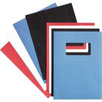 GBC Leathergrain Covers Win 250gsm Black A4 46705E (25PAIRS)