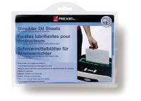 Rexel Shredder Oil Sheets 2101948 (PK12)