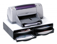 Fellowes Machine Organiser Printer Stand Graphite 24004