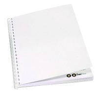 GBC Plain Cover Set 220gsm White A4 CEO80070 (PK100)
