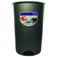 Addis 50L Round Bin Base Metallic No Lid Included