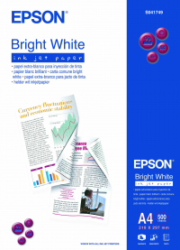 Epson Bright White Inkjet A4 500 Sheets