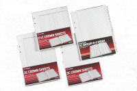 Twinlock Crown Sheets Plain Size 3C 100 Sheets 75840