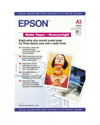 Epson Matte Heavyweight Paper A3 50 Sheets