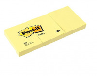 Post-it Note 38x51mm Canary Yellow PK12