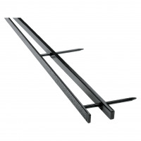 GBC Velobind Strips A4 45mm Black 9741635 (PK25)