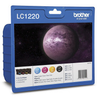 Brother LC1220 Bk/C/M/Y Value Pack
