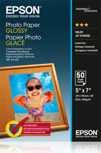 Epson Glossy Photo Paper 13X18 50 Sheets