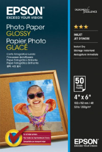 Epson Photo Paper Glossy 10X15 50 Sheets