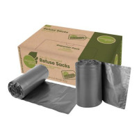Value Maxima Medium Duty Refuse Sack Black (Pack 200)
