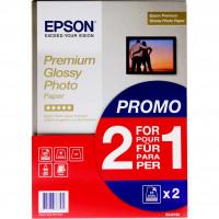 Epson Prem Glossy A4 Photo 15 Sheets BOGOF