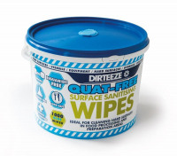 Dirteeze Sanitising Wipes (Pack 1000)