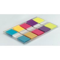 Post-it Index Flags 12mm 100 Tabs 5Assort Colours 683-5CB