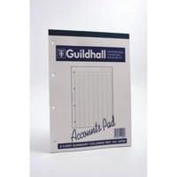 Guildhall Account Pad 8 Summary Column A4 60 Leaf GP8SZ
