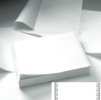 Value Integrity Listing Paper 11x241 60gsm Plain Perf BX2000