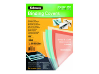 Fellowes PVC Cover A4 150 Microns Clear 5376001 (PK100)