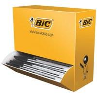 Bic Cristal Ball Pen Medium 1.0mm Black PK100