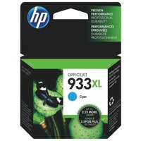 HP CN054AE 933XL CYAN INK CARTRIDGE