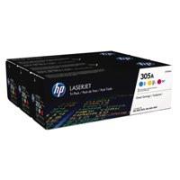 HP 305A C/M/Y Triple Pack