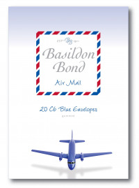 Basildon Bond Blue Airmail Envelope 114 x 162mm (Pack of 200) 100080079