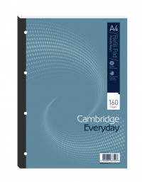Cambridge Everyday A4 Refill Pad Ruled Margin (Pack of 5) 846200192