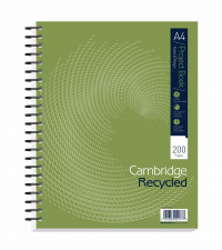 A4+ Npad Wirebound Hardback Project Book - Ruled Perforated 200p