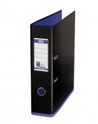 Elba MyColour Lever Arch File Polypropylene Capacity 80mm A4+ Black and Purple Ref 100081034