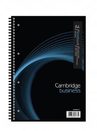 Cambridge Notebook 200 Page Wirebound Feint & Margin A4 Ref 100082373 [Pack 3]