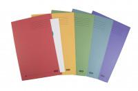 Elba Foolscap Assorted Square Cut Folder Pack of 25 100090142