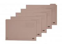 Elba Foolscap Buff Midweight Tabbed Folder (Pack of 100) 100090233