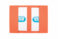 Elba Twin Pocket Wallet Foolscap Orange Ref 100092111 [Pack 25]