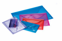 Elba A4 Assorted Snap Wallet Pack of 5 100201306