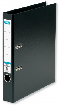 Elba A4 Black 50mm Plastic Lever Arch File 1451-10