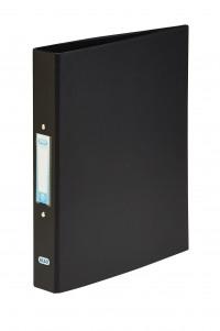 Elba Black A4 2 Ring Binder 25mm (Pack of 10) 400001512