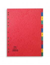 Elba January - December Pressboard Index A4 400007517