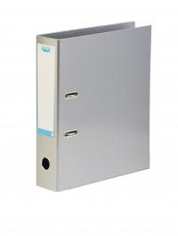 Elba Classy 70mm Lever Arch File A4 Metallic Silver 400021007