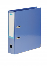 Elba Classy 70mm Metallic Blue A4 Lever Arch File 400021023