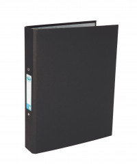 Elba A4 Black 25mm Paper Over Board Ring Binder (Pack of 10) 400033495
