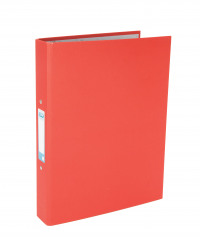 Elba A4 Red 25mm Paper Over Board Ring Binder (Pack of 10) 400033497
